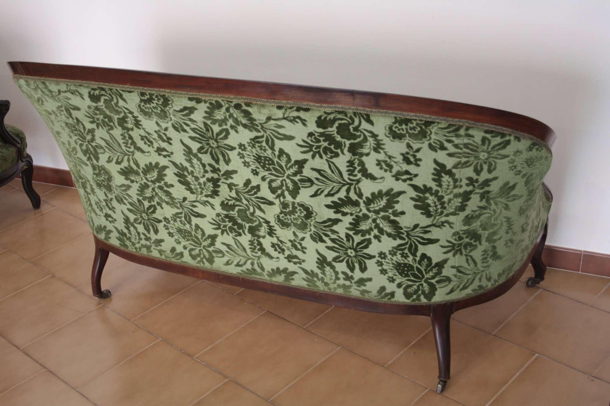 Divano E Poltrone Luigi Filippo salottino luigi filippo francese divano e due poltrone, 1830 1850, francia  - restauriraia conservazione e restauro di manufatti in legno