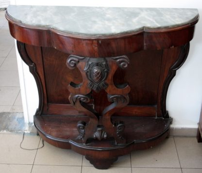 Luigi Filippo console in rosewood